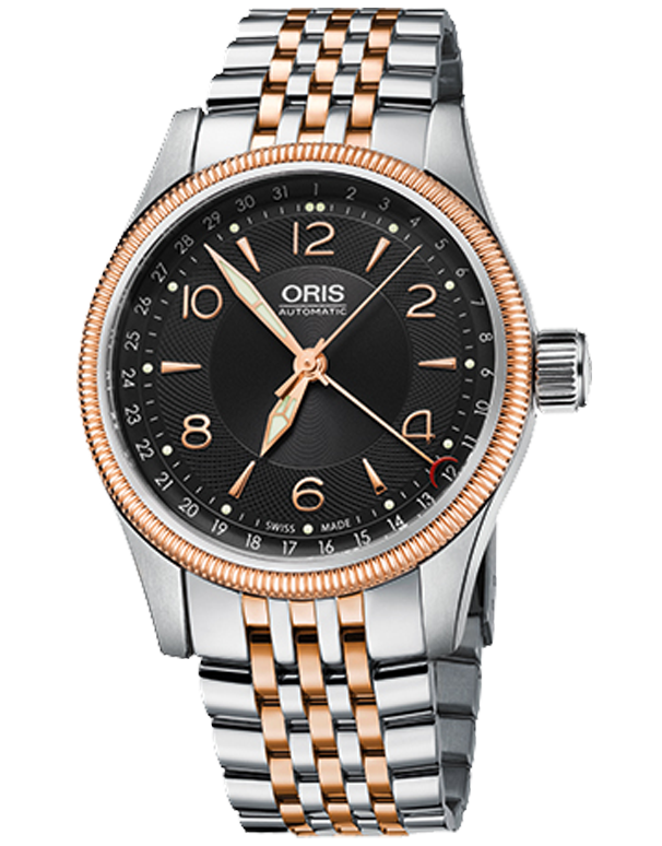 Oris Big Crown Pointer Black Dial Automatic Men's Watch - 01-754-7679-4334-MB
