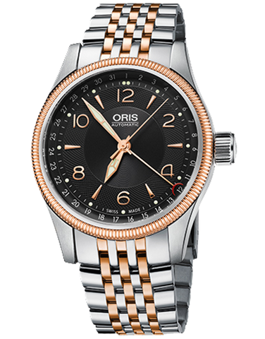 Oris Big Crown Pointer Black Dial Automatic Men's Watch - 01-754-7679-4334-MB - 766451