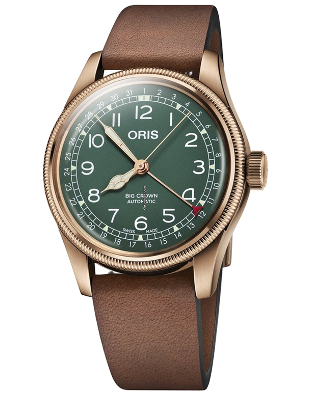 Oris Big Crown Pointer Date 80th Anniversary Edition - 01-754-7741-3167-LS - 769653 - Salera's