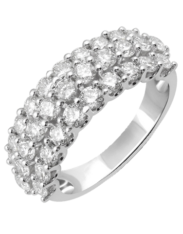 Diamond Ring - White Gold Diamond Ring - 755807