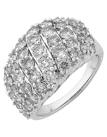 Diamond Ring - White Gold Diamond Ring - 756314