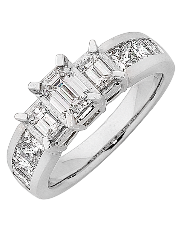 Diamond Ring - White Gold Diamond Ring - 756343 - Salera's Melbourne, Victoria and Brisbane, Queensland Australia