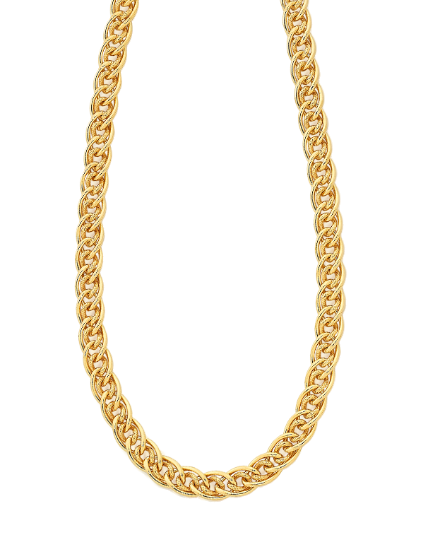 Gold Fusion Chain - 45cm Gold Fusion Necklet - 756711 - Salera's Melbourne, Victoria and Brisbane, Queensland Australia - 1
