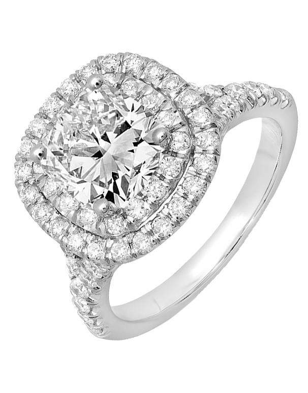 Diamond Ring - 18ct White Gold Diamond Ring - 758114 - Salera's Melbourne, Victoria and Brisbane, Queensland Australia