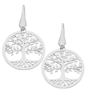 Silver Earrings - Sterling Silver Tree of Life Earrings - 758223 - Salera's Melbourne, Victoria and Brisbane, Queensland Australia - 1