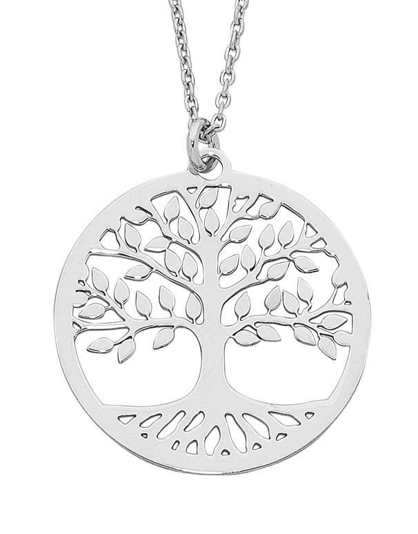 Silver Pendant - Sterling Silver Tree of Life Necklet - 758224 - Salera's