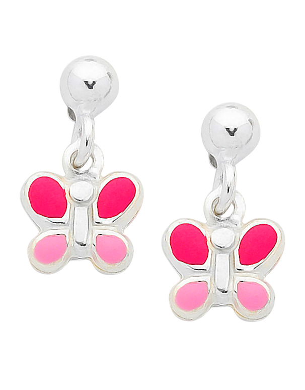 Silver Earrings - Sterling Silver Butterfly Earrings - 758400 - Salera's Melbourne, Victoria and Brisbane, Queensland Australia