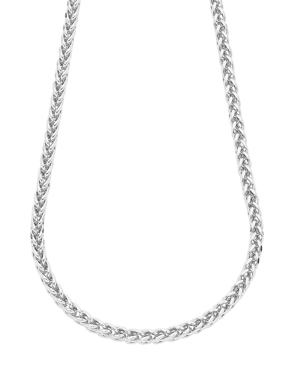 Gold Necklace - 50cm White Gold Necklet - 758711 - Salera's Melbourne, Victoria and Brisbane, Queensland Australia - 1