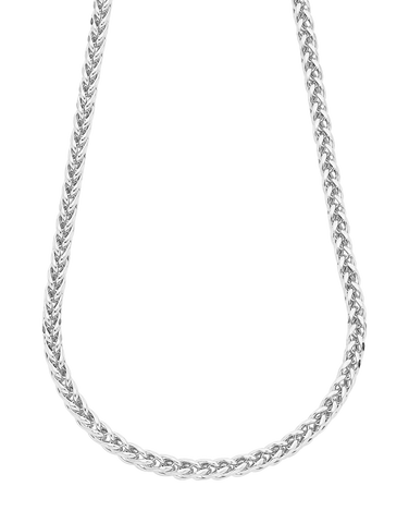 Gold Necklace - 50cm White Gold Necklet - 758711