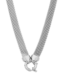 Silver Necklace - Sterling Silver Mesh Necklet - 758721 - Salera's Melbourne, Victoria and Brisbane, Queensland Australia - 2