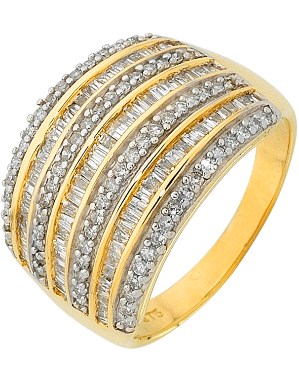 Diamond Ring - Yellow Gold Diamond Ring - 758929 - Salera's Melbourne, Victoria and Brisbane, Queensland Australia