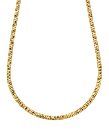 Gold Necklace - 50cm Yellow Gold Necklet - 759410
