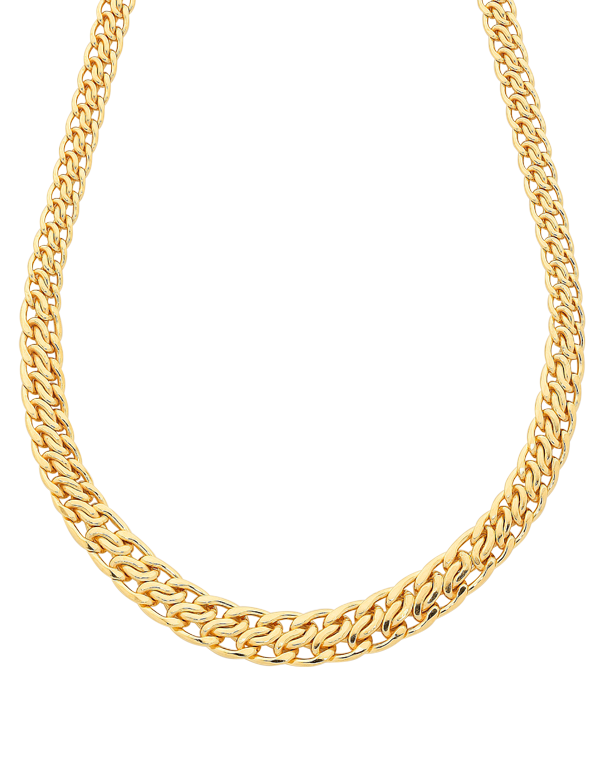 Gold Fusion Chain - 45cm Gold Fusion Necklet - 759472 - Salera's Melbourne, Victoria and Brisbane, Queensland Australia - 1