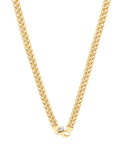 Gold Fusion Chain - 45cm Gold Fusion Necklet - 759472 - Salera's Melbourne, Victoria and Brisbane, Queensland Australia - 2