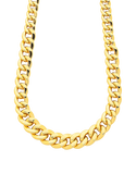 Gold Fusion Chain - 45cm Curb Chain - 759473 - Salera's Melbourne, Victoria and Brisbane, Queensland Australia - 1