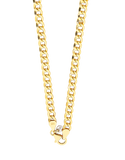 Gold Fusion Chain - 45cm Curb Chain - 759473 - Salera's Melbourne, Victoria and Brisbane, Queensland Australia - 2