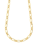 Gold Fusion Chain - Men's 55cm 1-1 Figaro Chain - 759474 - Salera's Melbourne, Victoria and Brisbane, Queensland Australia - 1