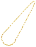 Gold Fusion Chain - Men's 55cm 1-1 Figaro Chain - 759474 - Salera's Melbourne, Victoria and Brisbane, Queensland Australia - 2