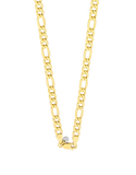 Gold Fusion Chain - Men's 55cm 3-1 Figaro Chain - 759480 - Salera's Melbourne, Victoria and Brisbane, Queensland Australia - 2