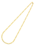 Gold Fusion Chain - Men's 55cm 3-1 Figaro Chain - 759480 - Salera's Melbourne, Victoria and Brisbane, Queensland Australia - 3