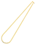 Gold Fusion Chain - Men's 55cm Curb Chain - 759485 - Salera's Melbourne, Victoria and Brisbane, Queensland Australia - 3