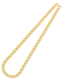 Gold Fusion Chain - Men's 55cm Double Curb Chain - 759489 - Salera's Melbourne, Victoria and Brisbane, Queensland Australia - 3