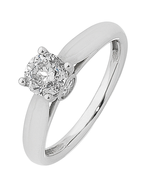 Diamond Ring - Round Brilliant Solitaire Engagement Ring - 759752 - Salera's Melbourne, Victoria and Brisbane, Queensland Australia