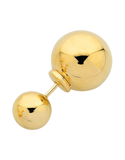 Gold Earrings - 9ct Yellow Gold Double Ball Studs - 760180 - Salera's Melbourne, Victoria and Brisbane, Queensland Australia - 2