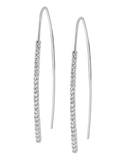 Diamond Earrings - Diamond Set White Gold Earrings - 760827 - Salera's Melbourne, Victoria and Brisbane, Queensland Australia - 1