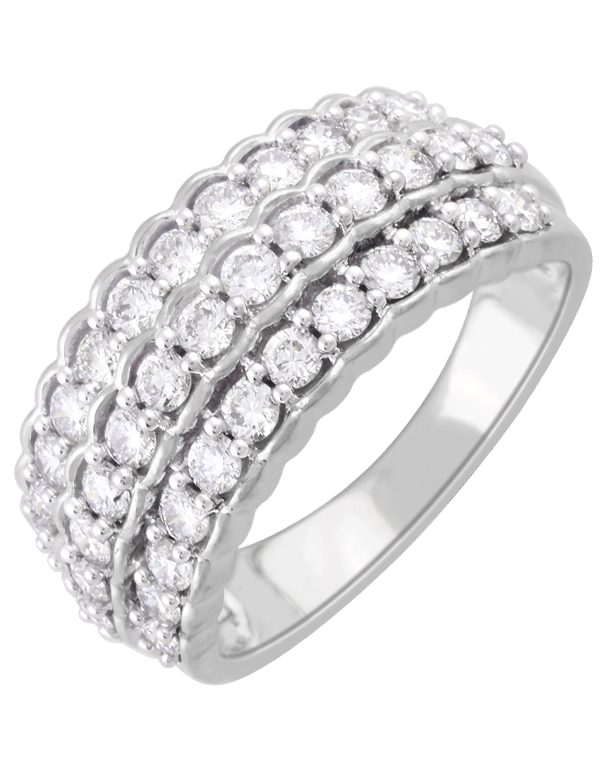 Diamond Ring - 14ct White Gold Diamond Ring - 761380 - Salera's Melbourne, Victoria and Brisbane, Queensland Australia