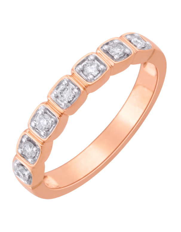 Diamond Ring - Rose Gold Diamond Ring - 761382 - Salera's Melbourne, Victoria and Brisbane, Queensland Australia