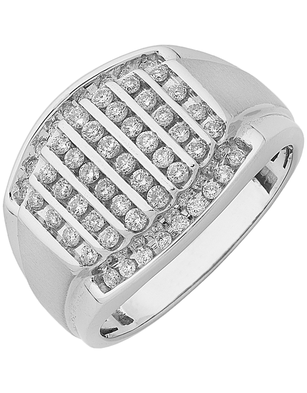 Men's Ring - White Gold Diamond Ring - 761446 - Salera's Melbourne, Victoria and Brisbane, Queensland Australia