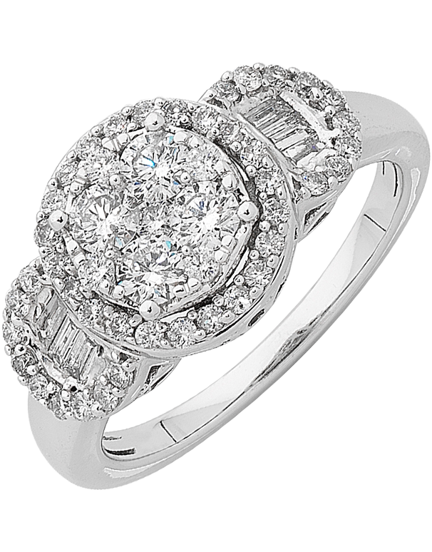 Diamond Ring - White Gold Diamond Ring - 761534 - Salera's Melbourne, Victoria and Brisbane, Queensland Australia