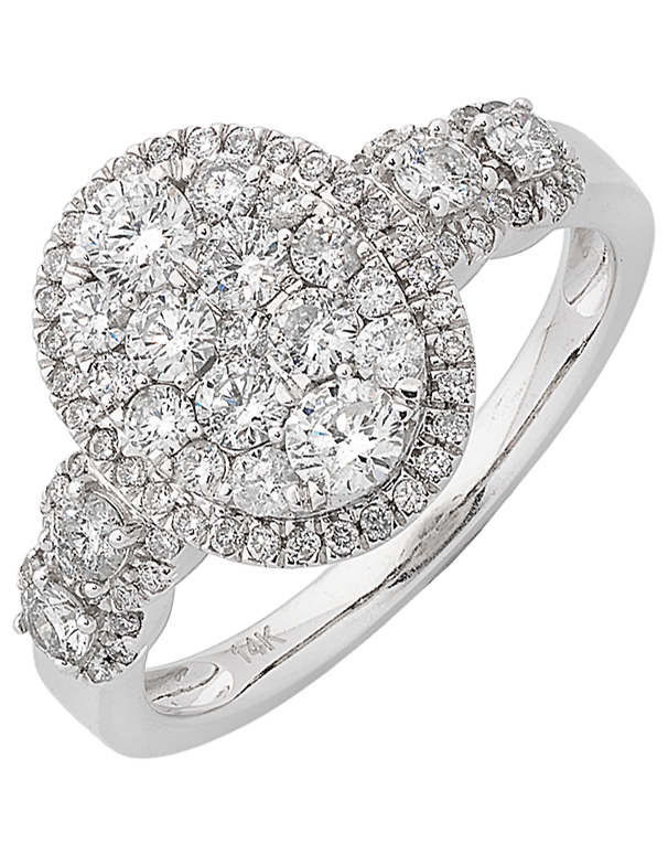 Diamond Ring - White Gold Diamond Ring - 761535 - Salera's Melbourne, Victoria and Brisbane, Queensland Australia