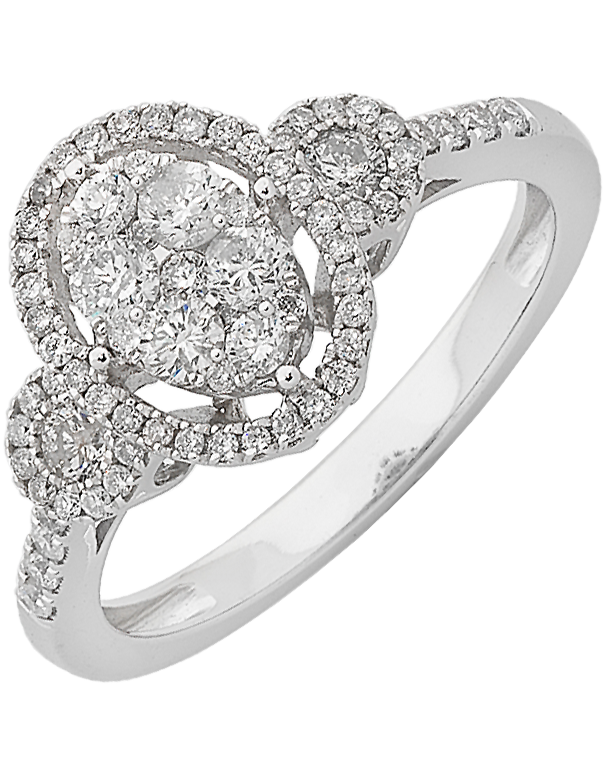 Diamond Ring - White Gold Diamond Ring - 761989 - Salera's Melbourne, Victoria and Brisbane, Queensland Australia