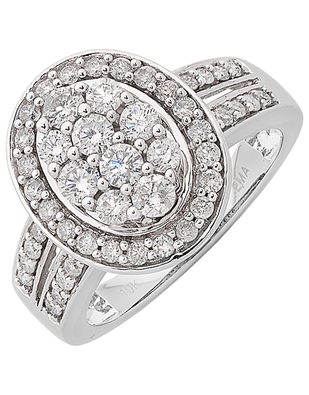 Diamond Ring - White Gold Diamond Ring - 762424 - Salera's Melbourne, Victoria and Brisbane, Queensland Australia