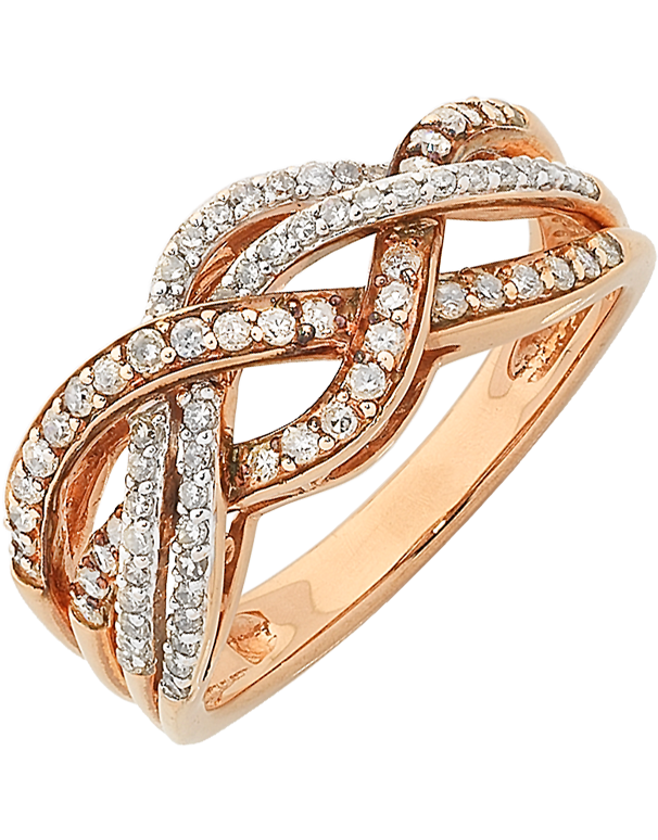 Diamond Ring - Rose Gold Diamond Ring - 762500 - Salera's Melbourne, Victoria and Brisbane, Queensland Australia