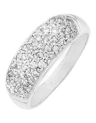 Diamond Ring - White Gold Diamond Ring - 762874