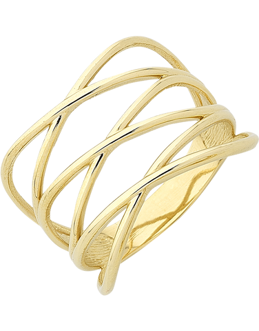 Gold Ring - Yellow Gold Ring - 763415