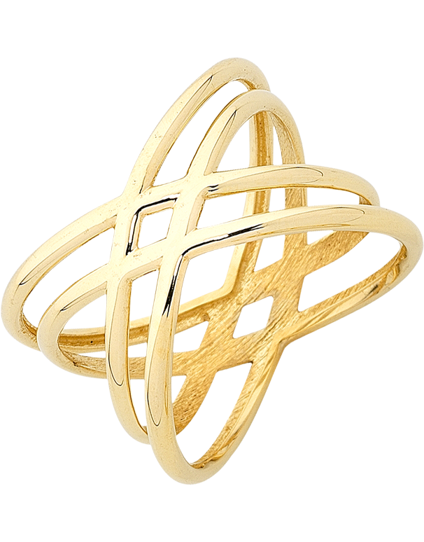 Gold Ring - Yellow Gold Ring - 763416 - Salera's Melbourne, Victoria and Brisbane, Queensland Australia