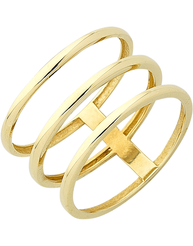 Gold Ring - Yellow Gold Ring - 763631
