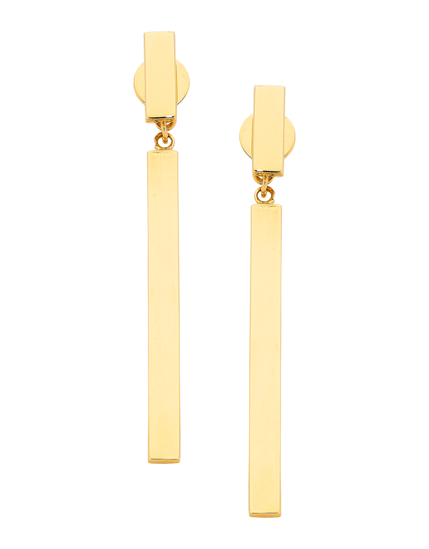Gold Earrings - Yellow Gold Drop Earrings - 763650 - Salera's Melbourne, Victoria and Brisbane, Queensland Australia - 1
