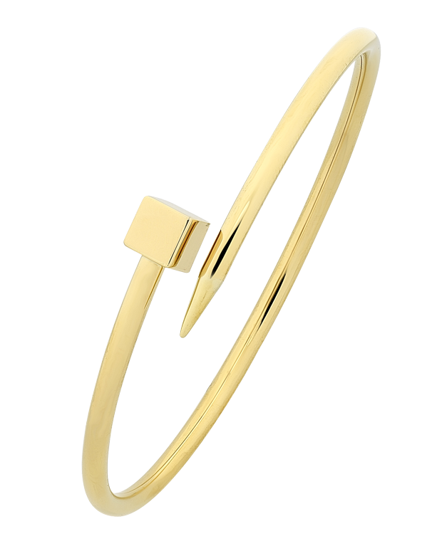 Gold Bangle - 9ct Yellow Gold Bangle - 763654 - Salera's Melbourne, Victoria and Brisbane, Queensland Australia