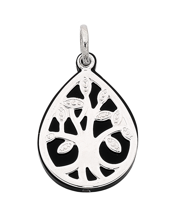 Silver Pendant - Sterling Silver Tree of Life Pendant - 763839