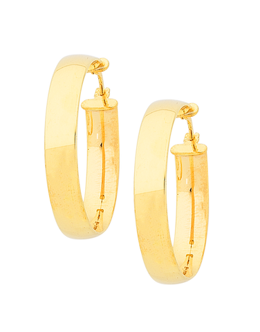 Gold Earrings White Yellow & Rose Gold Hoops Studs Salera s