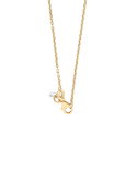 Gold Fusion Necklace - 50cm Infinity Necklet - 763941
