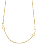 Gold Fusion Necklace - 50cm Infinity Necklet - 763941 -  Salera's Melbourne, Victoria and Brisbane, Queensland Australia