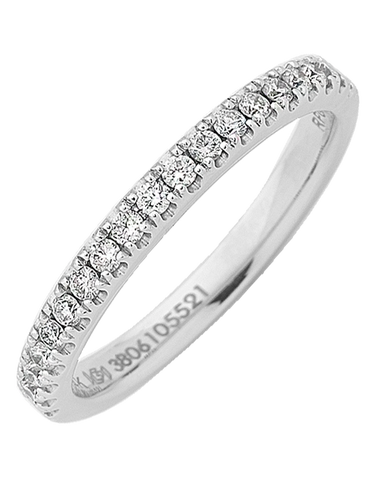 White Gold Ring - 14ct White Gold Ring - 764711