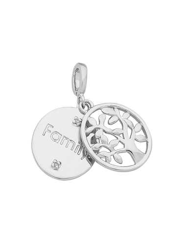 Silver Pendant - Sterling Silver Tree of Life Pendant - 766091