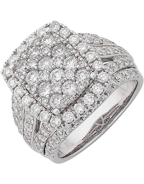 Diamond Ring - 14ct White Gold 3.00ct Diamond Ring - 766209 - Salera's Melbourne, Victoria and Brisbane, Queensland Australia